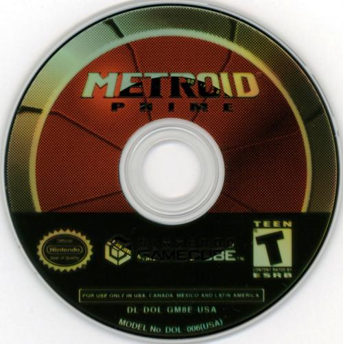 Metroid Prime Disc Scan - Click for full size image