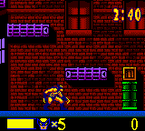 X-Men - Wolverine's Rage (USA) In game screenshot