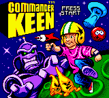 Commander Keen (USA) Title Screen