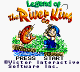 Legend of the River King GB (Europe) Title Screen