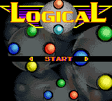 Logical (USA) Title Screen