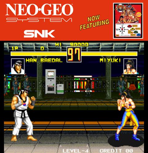 Fight Fever (Set 1) ROM