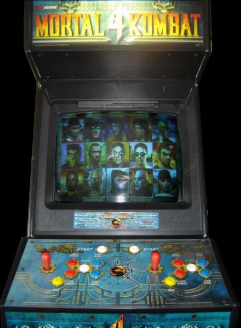 mortal kombat 4 arcade machine