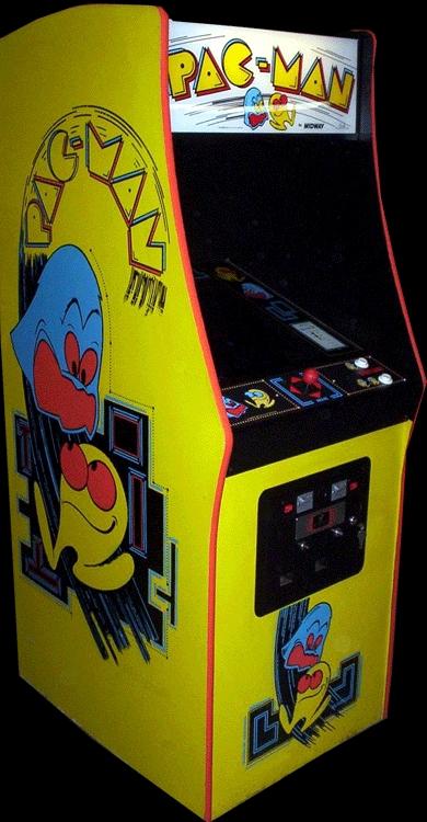 1980 pacman machine