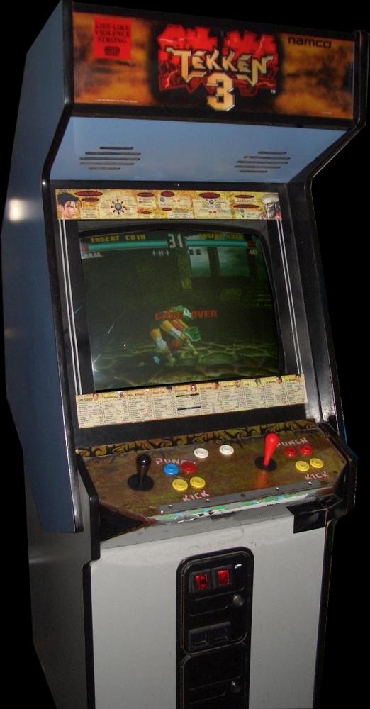 arcade machine tekken