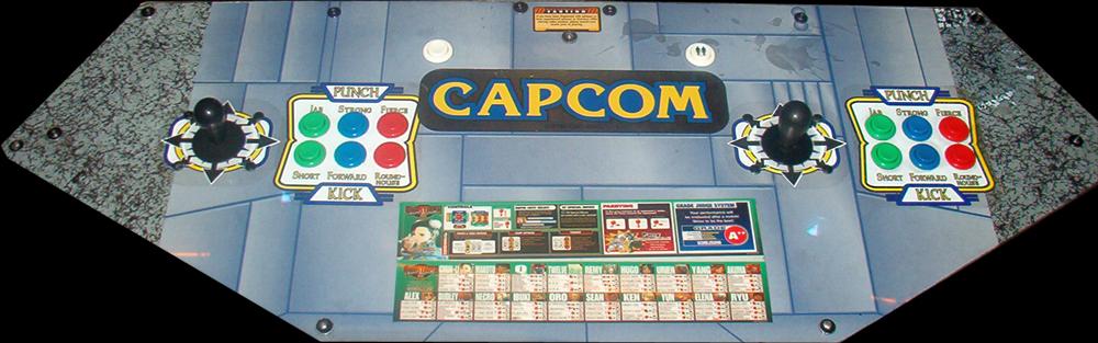 fighter iii 3rd strike arcade machine