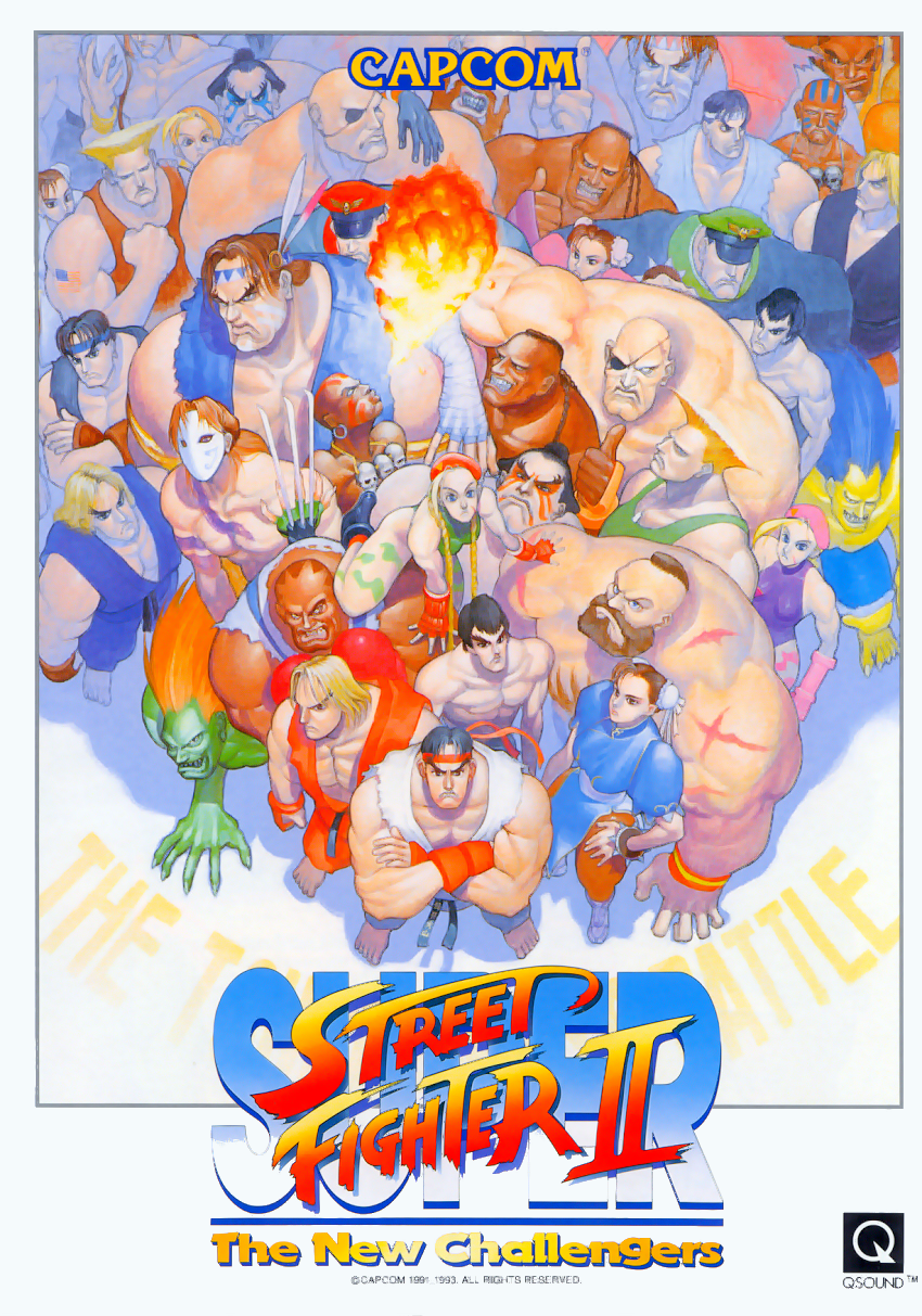Super Street Fighter Ii The New Challengers Asia 930914 Rom