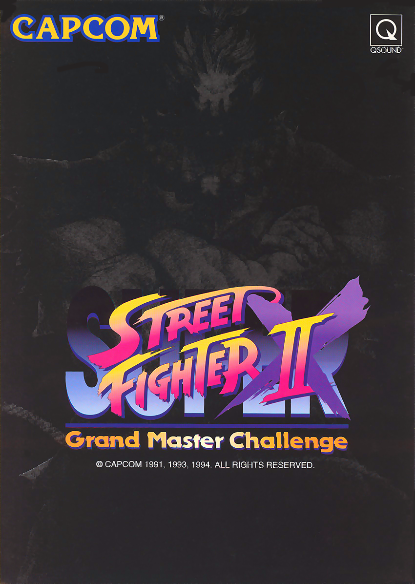 Super Street Fighter Ii X Grand Master Challenge Japan