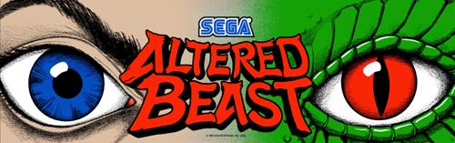 altered beast arcade machine