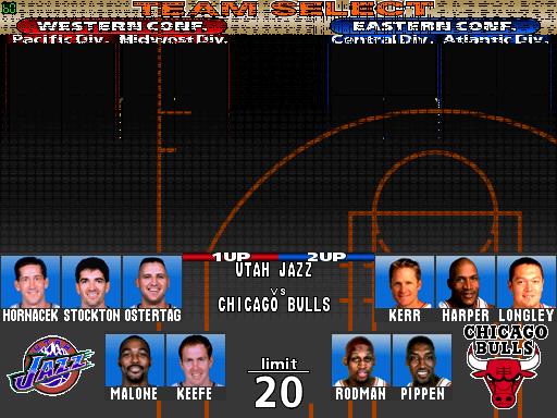 NBA Play By Play ROM < MAME RO...