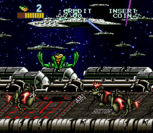 battletoads arcade machine
