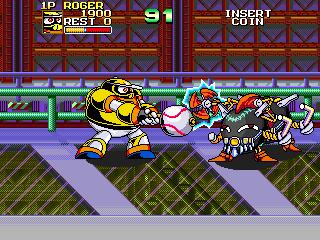 baseball batman arcade machine