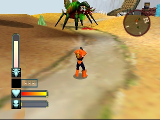 Body Harvest (USA) In game screenshot