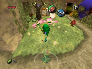 Legend of Zelda, The - Majora's Mask (USA) In game screenshot