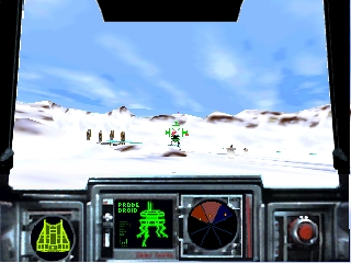 Star Wars - Teikoku no Kage (Japan) In game screenshot
