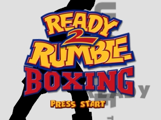 Ready 2 Rumble Boxing (USA) Title Screen
