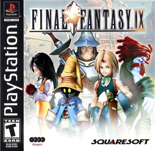 final fantasy ix ntsc u disc1of4 front cover