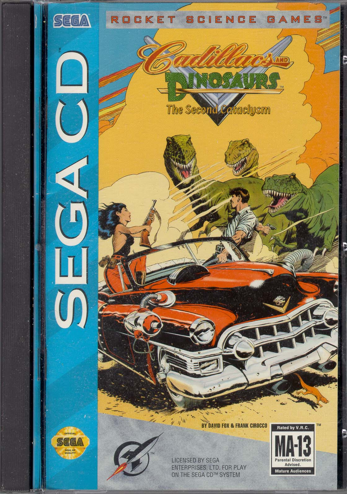 Judge a game by its cover - Page 3 Cadillacs%20&%20Dinosaurs%20-%20The%20Second%20Cataclysm%20(U)%20(Front)
