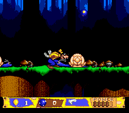 Goofy's Hysterical History Tour (USA) In game screenshot