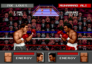 Greatest Heavyweights (USA) In game screenshot
