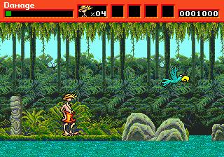 Greendog - The Beached Surfer Dude ! (USA, Europe) In game screenshot