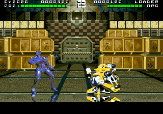 Rise of the Robots (Europe) In game screenshot