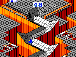 Marble Madness (Europe) In game screenshot