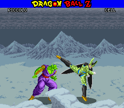 Dragon Ball Z - La Legende Saien (France) In game screenshot