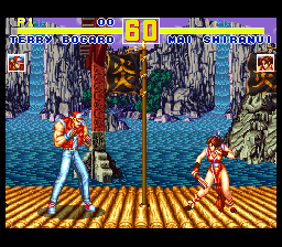 Fatal Fury Special (USA) In game screenshot