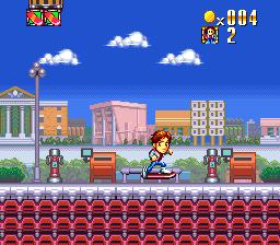Super back to the future part ii japan in game screenshot