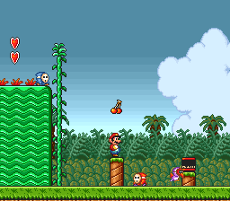Super Mario All-Stars (USA) In game screenshot