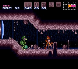 Super Metroid (Japan, USA) (En,Ja) In game screenshot