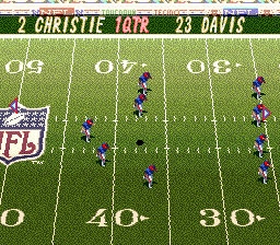Tecmo Super Bowl II - Special Edition (Japan) In game screenshot