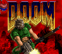 Doom (USA) Title Screen