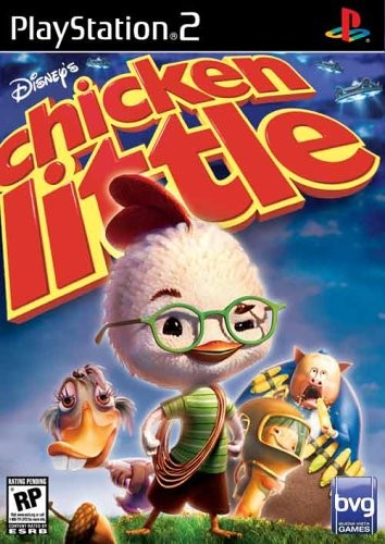 Disney S Chicken Little Usa Iso