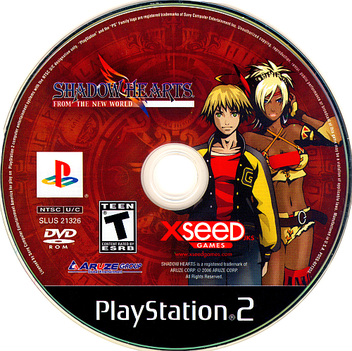 Shadow Hearts From The New World 2 For Shadow Hearts From