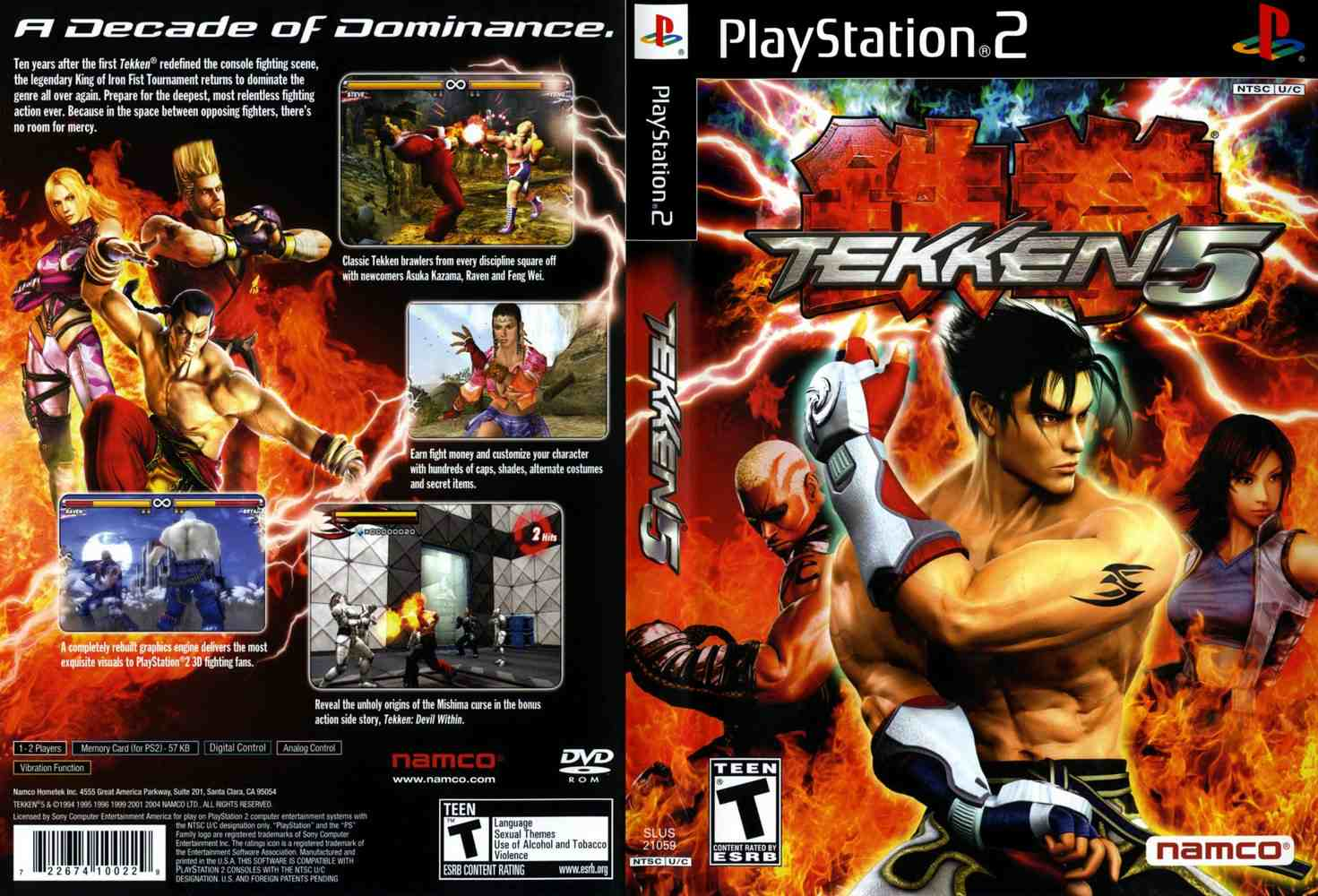 Tekken 5 Usa Iso Download