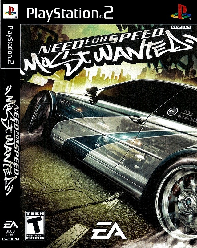Need for Speed - Most Wanted - Black Edition (USA) ISO Ps2 Need For Speed