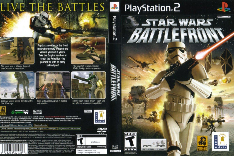 Star Wars - Battlefront. User rating: File size: 1.2GB. Region: USA. Console: Playstation 2 (Download Emulator). Genre