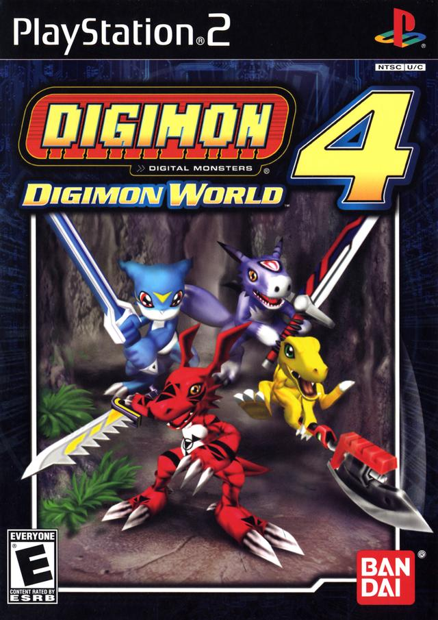 Digimon World 4 Europe En De Es It Iso