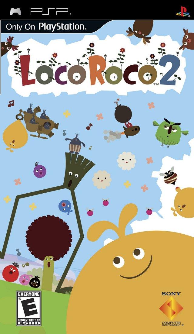 LocoRoco 2 EUR PSP ISO Download - NicoBlog