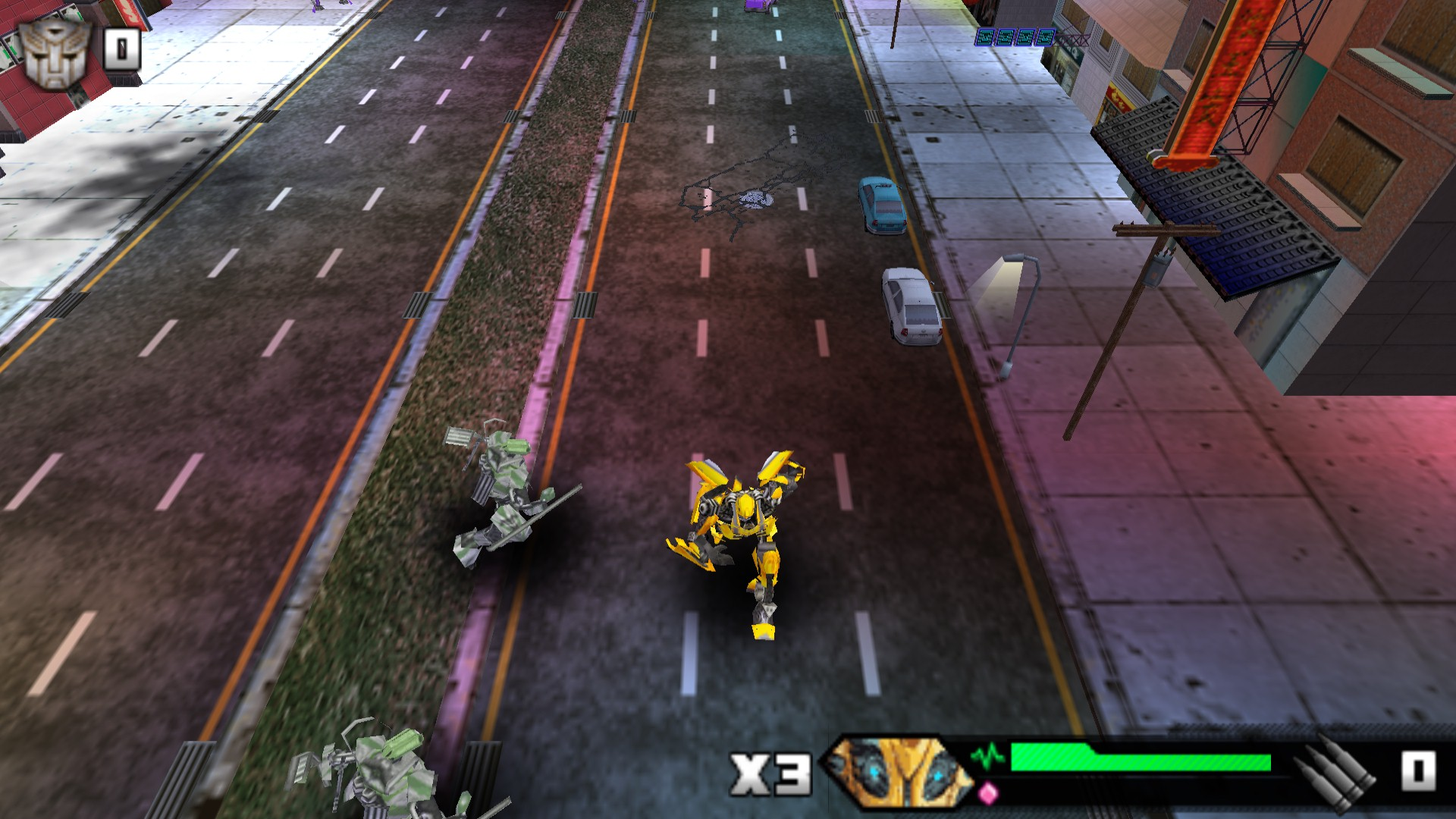 Transformers - Revenge of the Fallen (Europe) ISO