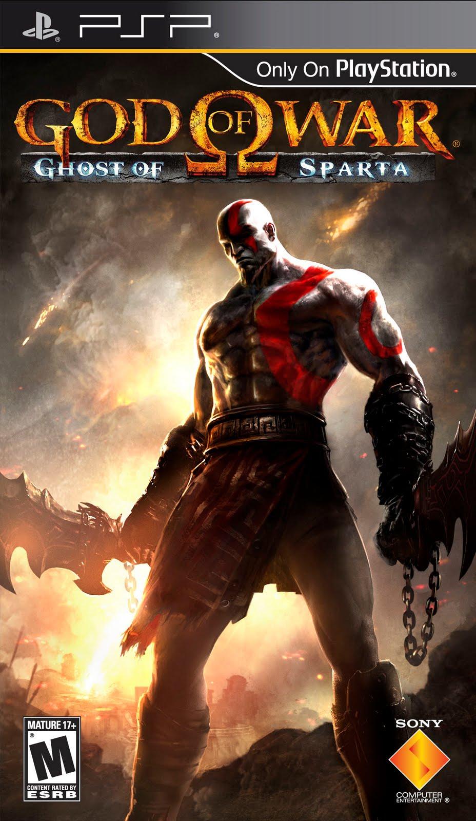 God Of War Psp : God of war ghost sparta usa iso download