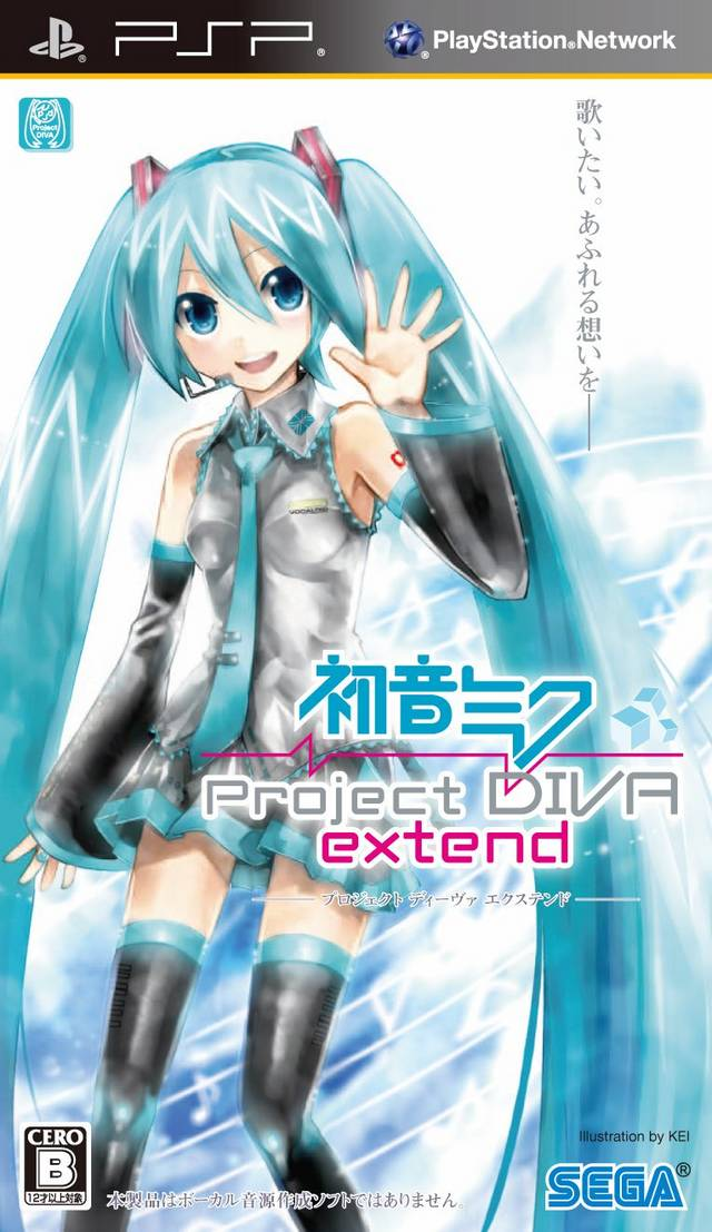 Hatsune miku project diva extend japan iso - Hatsune miku project diva ...
