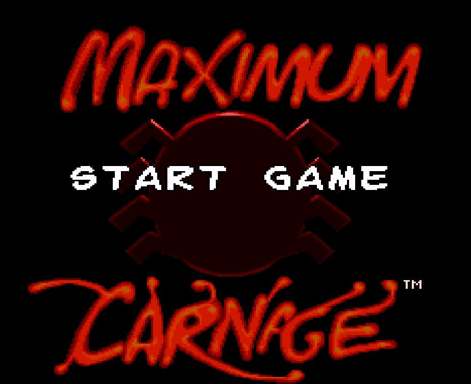 Spider-Man & Venom - Maximum Carnage (Europe) ROM Download  Maximum Carnage Game