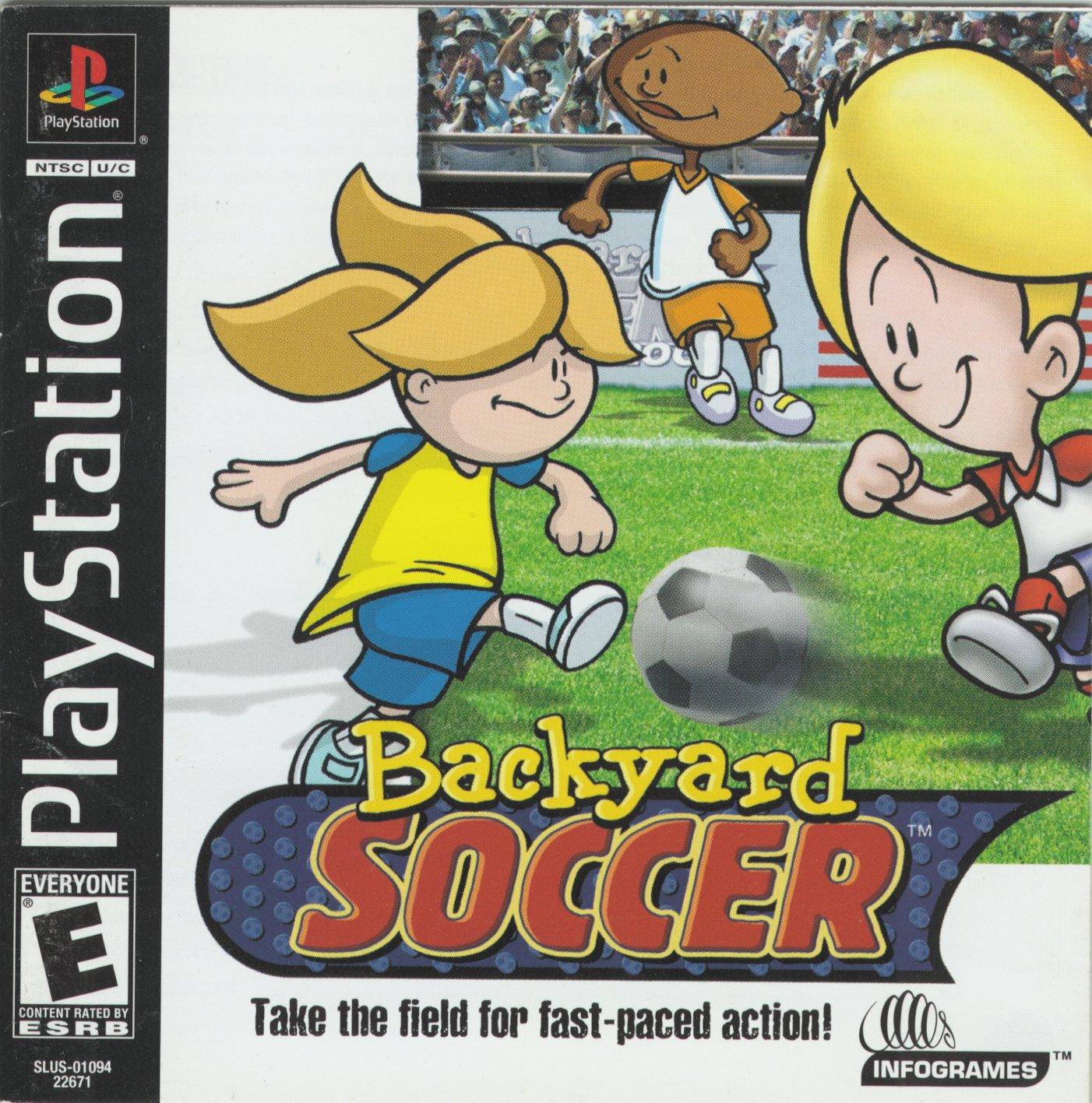 Backyard Soccer Download : Backyard Soccer [U] ISO Download