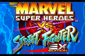 Marvel Super Heroes VS Street Fighter ISO