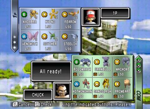Pokemon Stadium 2 Cheats for Nintendo 64