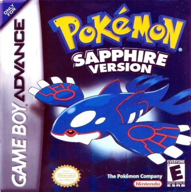 Pokemon sapphire u mugs rom