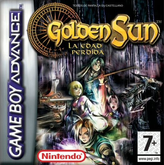 golden sun 2 la edad perdida: